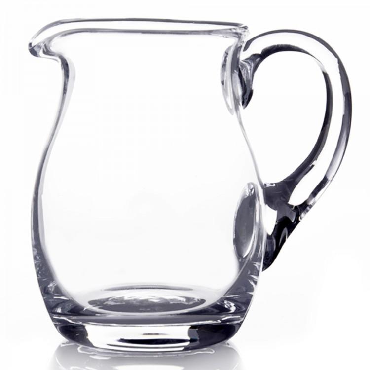 Jarra de cristal transparente Trento (500 cc - 14,5x10x13,5 cm)