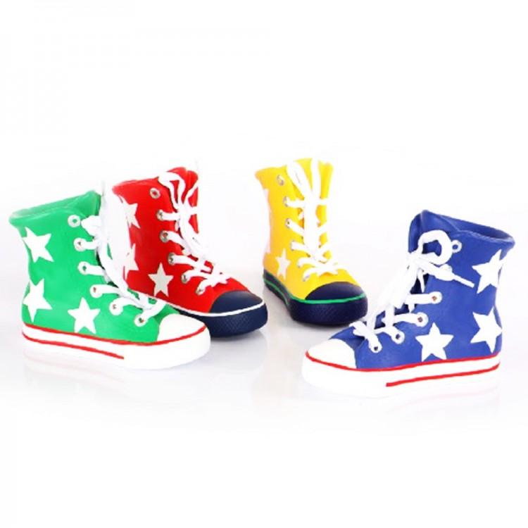 Hucha infantil con forma de bota deportiva (19x8x14 cm) cerámica