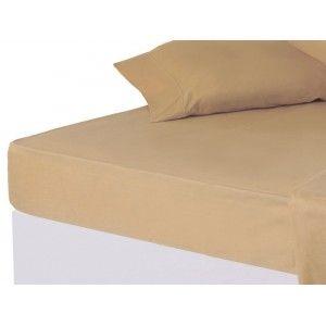 Sábana bajera Beig cama 150 cm