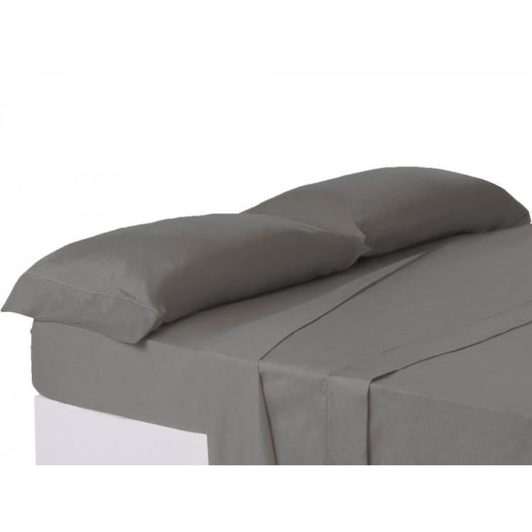 Funda de almohada cama 150cm gris