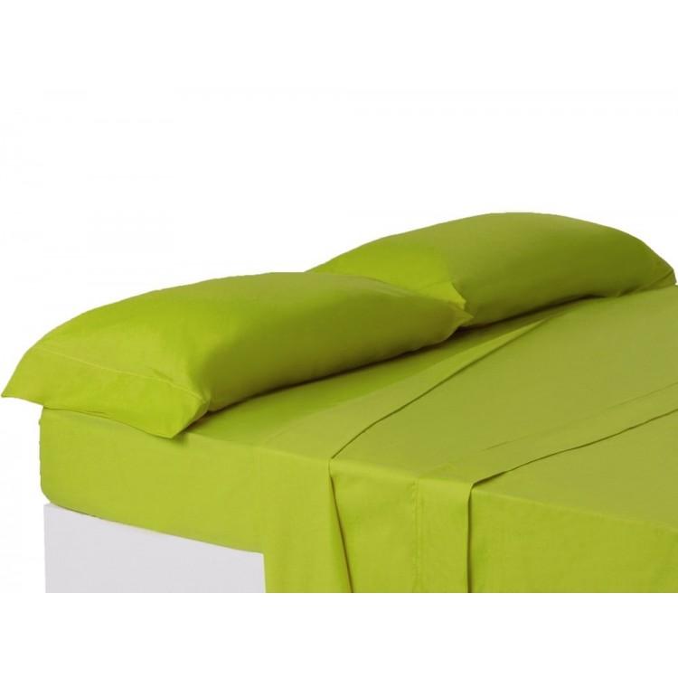 Funda de almohada cama 150 cm verde