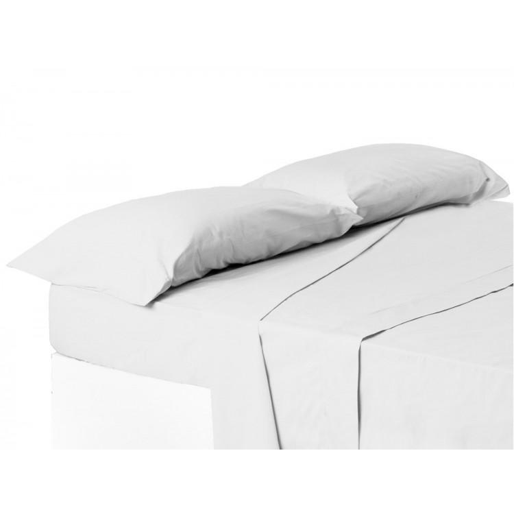Funda de almohada cama 150 cm blanca