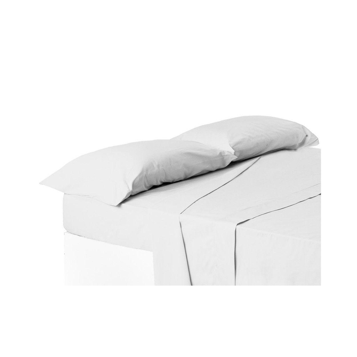 Funda de almohada cama 150 cm blanca hogar y m s - Funda almohada 150 ...