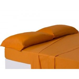 Funda de almohada Naranja cama 150 cm naranja