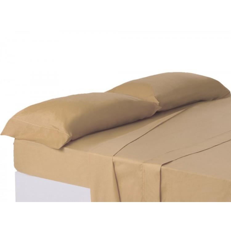 Funda de almohada Beig cama 150 cm