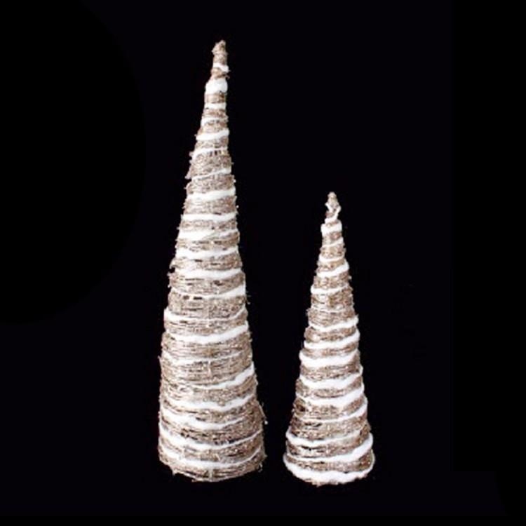 árboles De Navidad Con Luz Led Para Decoración 60 Cm 40 Cm Metal Hogar Y Más