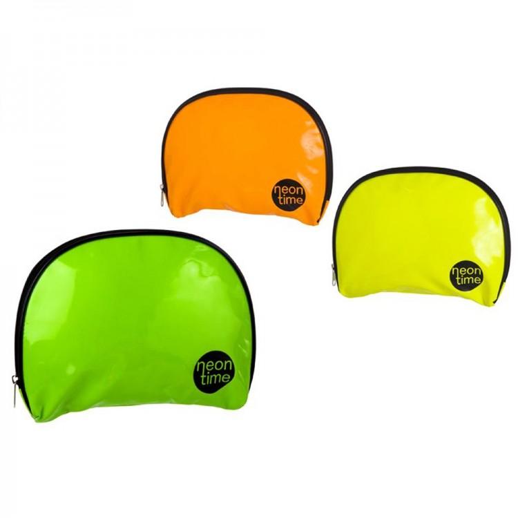 Neceser en color neon (28x3,4x21 cm) pvc