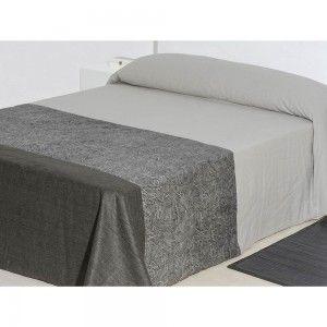 Colcha tafetan gris (240x260)