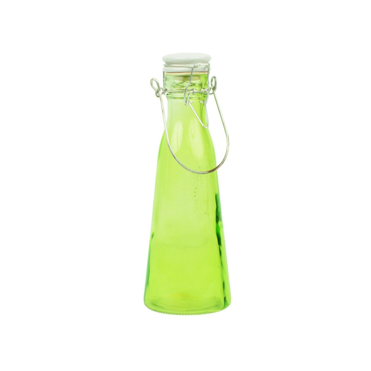 Botella de cristal con asa tres colores hogar for Botellas de cristal ikea