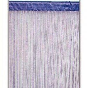 Cortina de hilos lila (90x200)