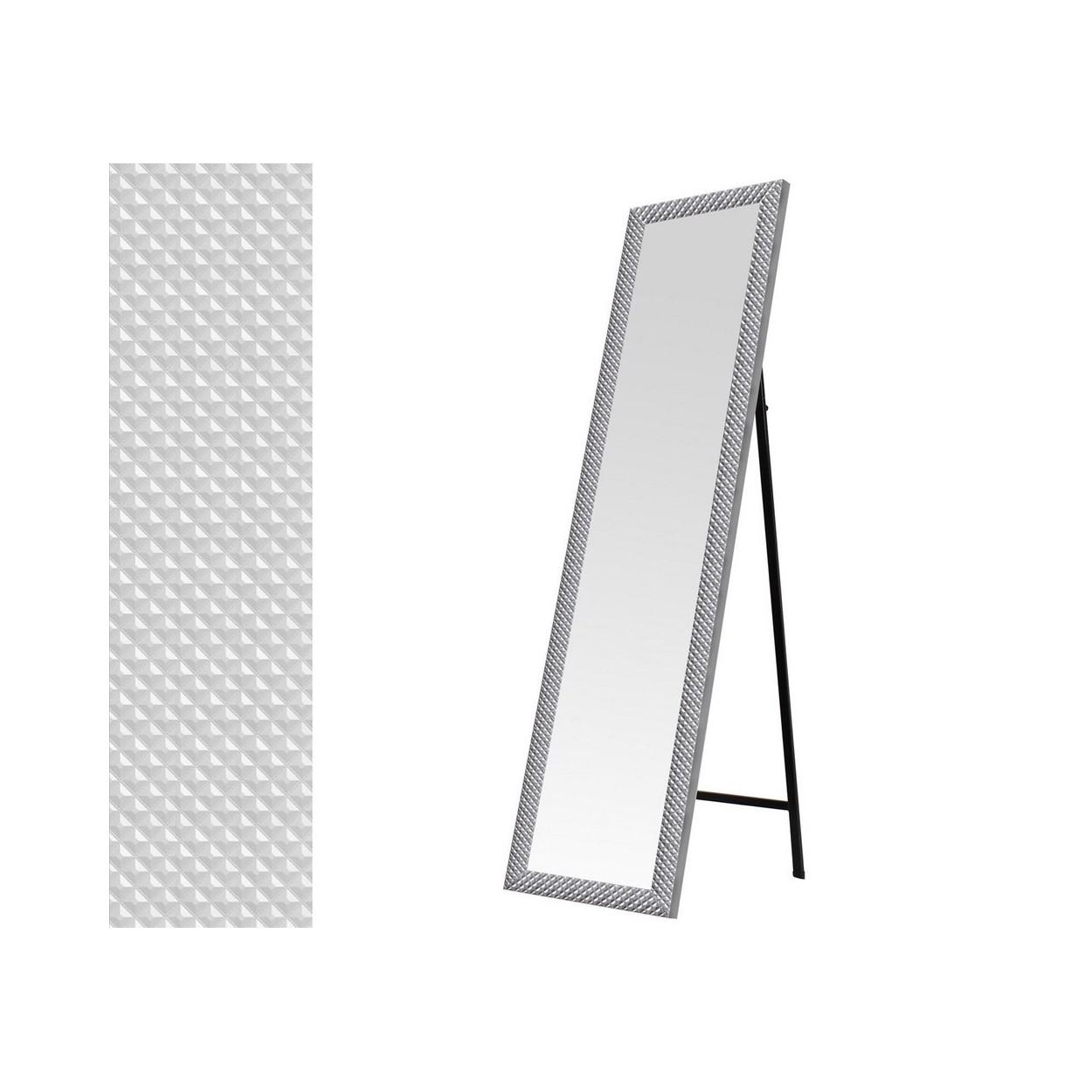 Espejo de pie en color plata hogar y m s for Espejos color plata