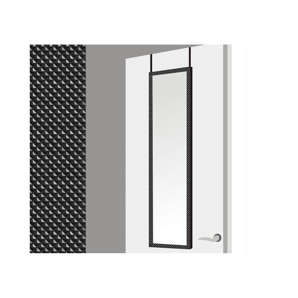 Espejo para puerta con formas geom tricas en color negro - Espejos con formas ...