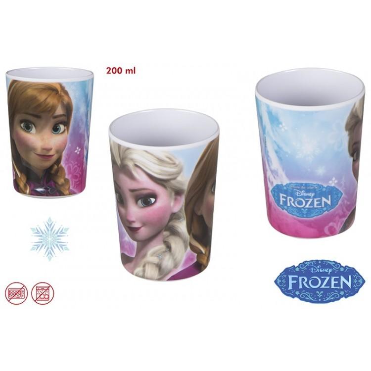 Vaso Frozen de melamina (200 ml)
