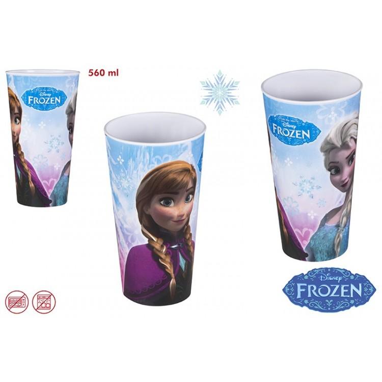 Vaso Frozen de melamina (560 ml)