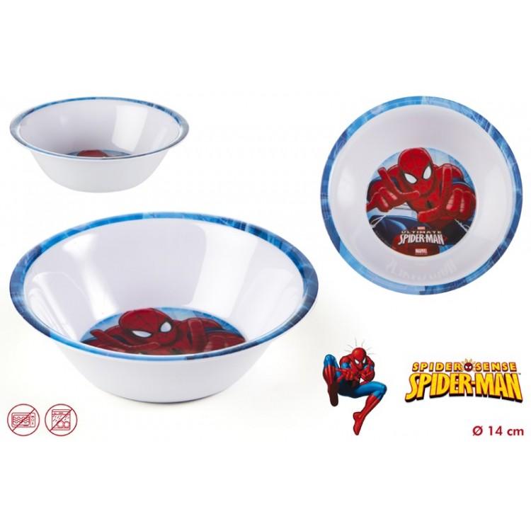 Cuenco Spiderman de melamina