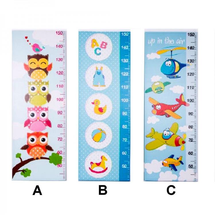 Medidor infantil. Tres modelos. (40 x 113 x 4 cm)