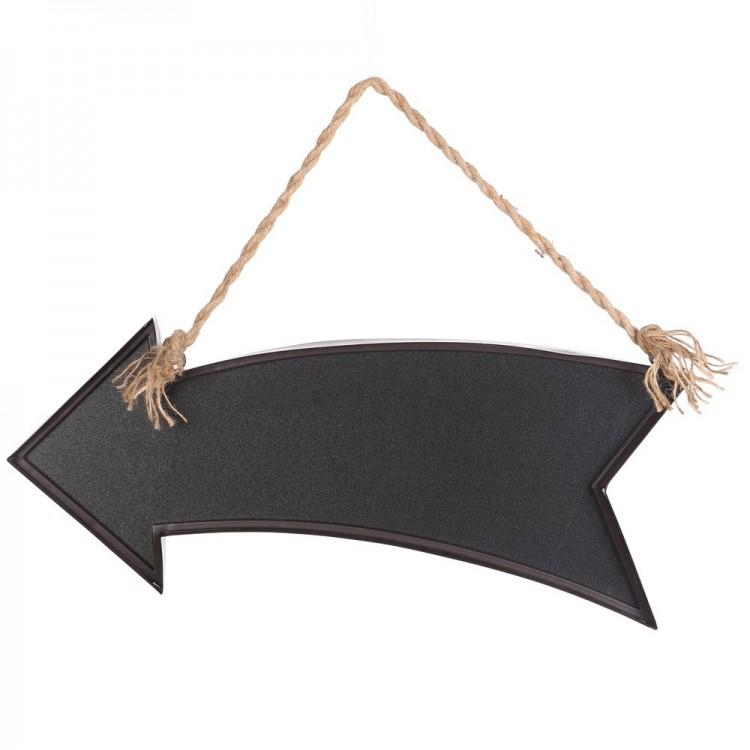 Decoraci n para colgar flecha en metal cm for Decoracion en metal para pared