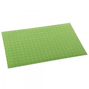 Salvamantel verde de polipiel (30x45 cm)