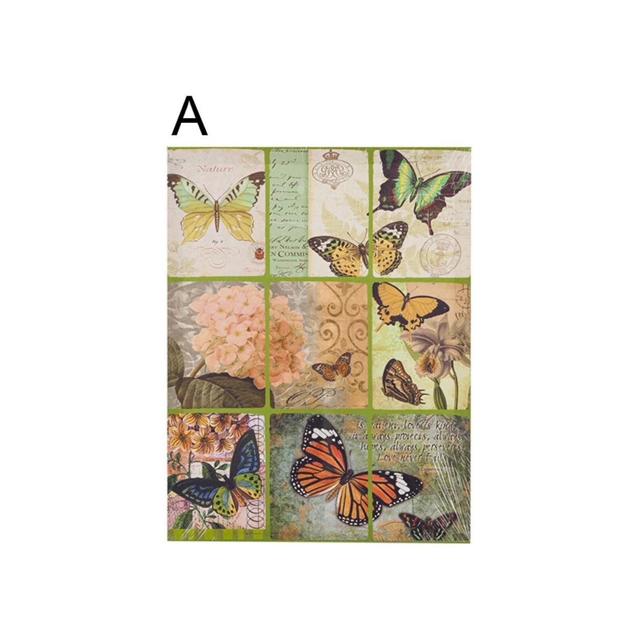 comprar cuadro mariposas 40 x 50 cm hogar y m s. Black Bedroom Furniture Sets. Home Design Ideas