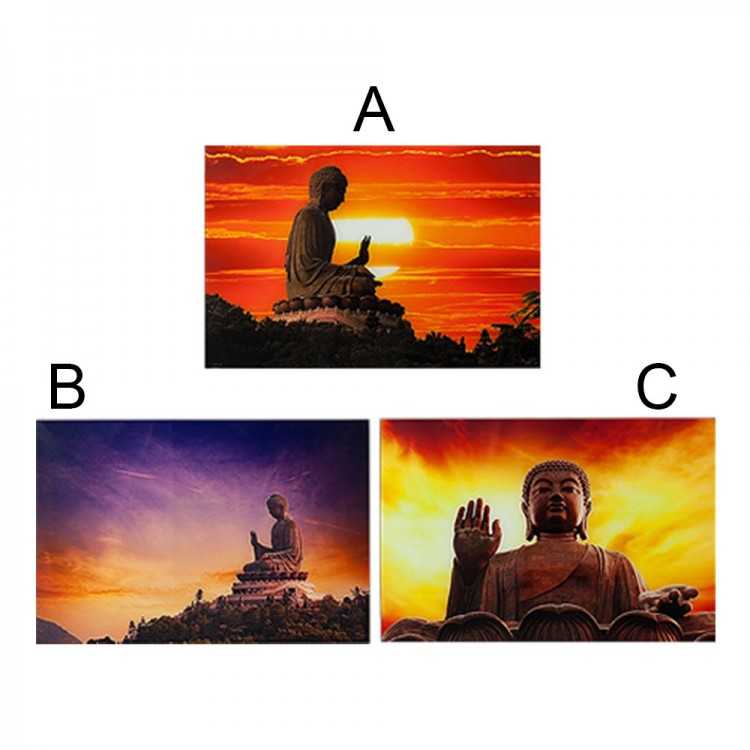 Cuadro  de cristal - Buda (60 x 90 cm)