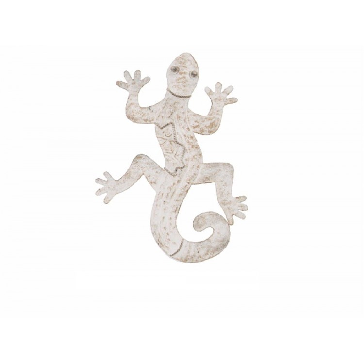 Figura lagarto de metal decoraci n de pared 37x29x3 cm for Figuras de metal para decorar paredes