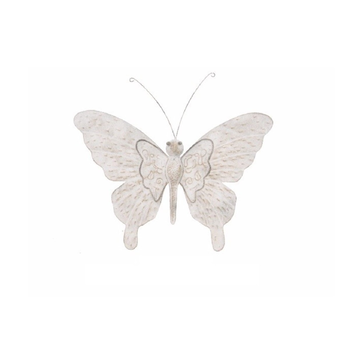 Figura mariposa de metal decoraci n de pared 55x46x3 cm for Figuras de metal para decorar paredes