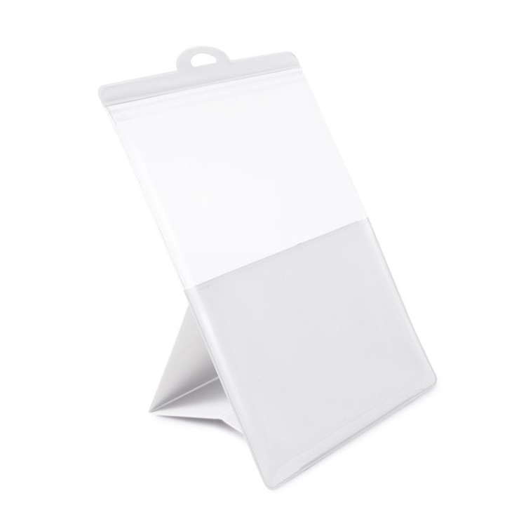 Funda para tablet de PVC blanco, ichef (29x20,7x14)