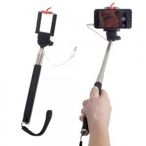 Palo de selfie extensible para teléfono móvil