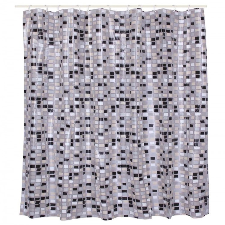 "Cortina de baño - Modelo ""Square"" (180x180 cm)"