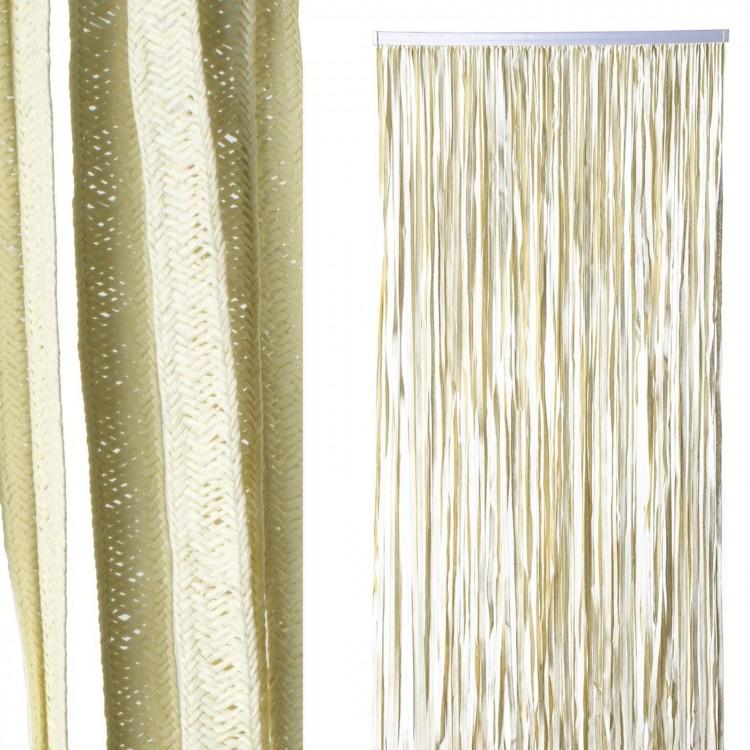 "Cortina puerta - Modelo ""Neembucu"" (90x200 cm). Color crudo"