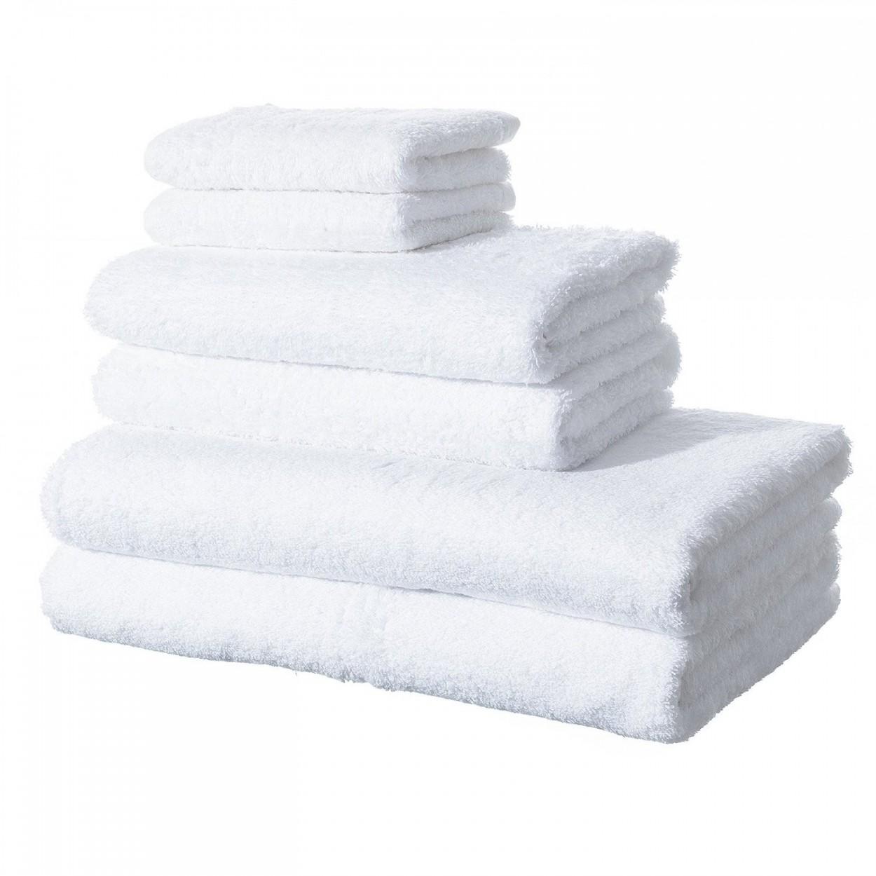 Toallas de ba o color blanco hogar y m s - Toallas para bano ...
