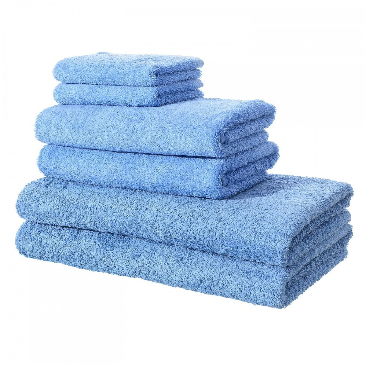Toallas de ba o color azul hogar y m s - Toallas bano ...