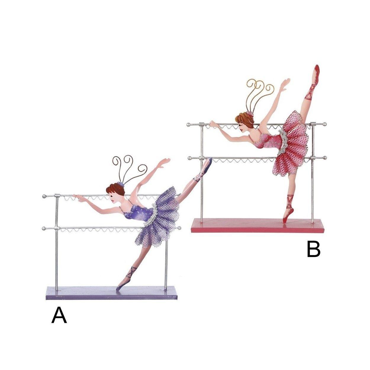 Figura cuelga joyas modelo bailarina 31x8x29 cm for Cuelga toallas bano