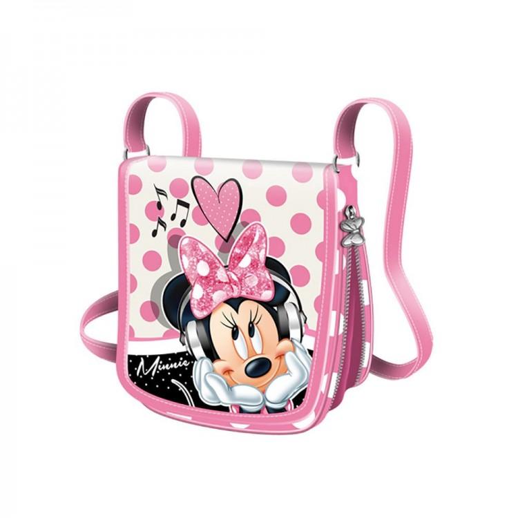 Bolso bandolera - Minnie Mouse (21.5x20x35 cm)