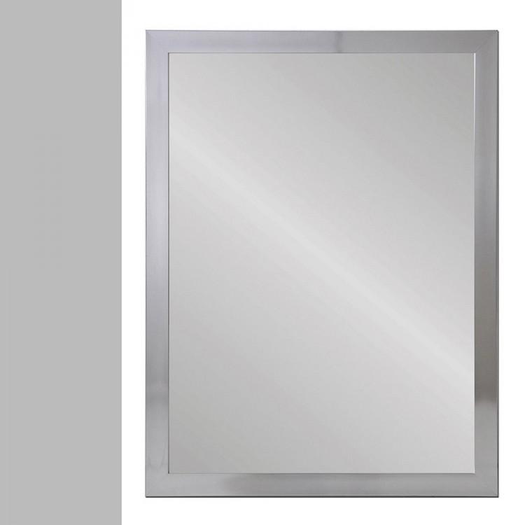 Espejo pared plata polietileno  (56X2X76)