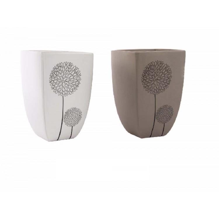 Jarrón cerámica (14x14x21)