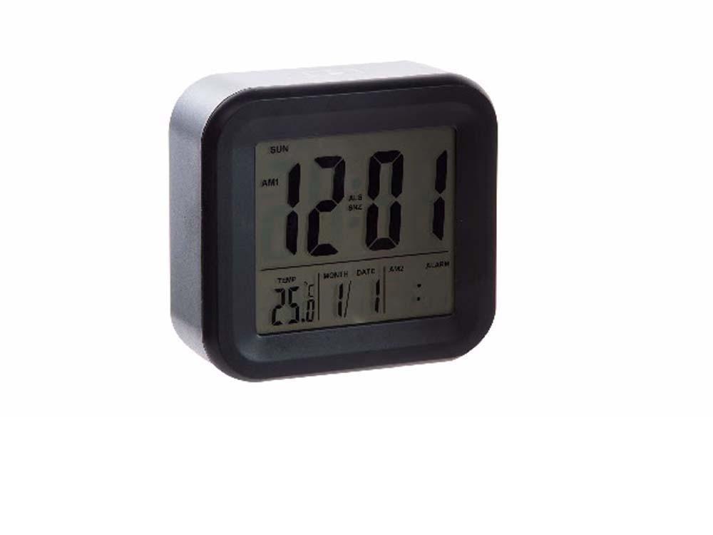 Reloj despertador digital (11,8x4,4x11,5)