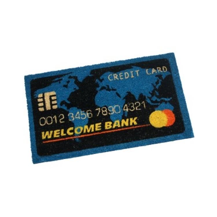 Felpudo Fibra de Coco mod. Tarjeta De Crédito (73x43 cm)