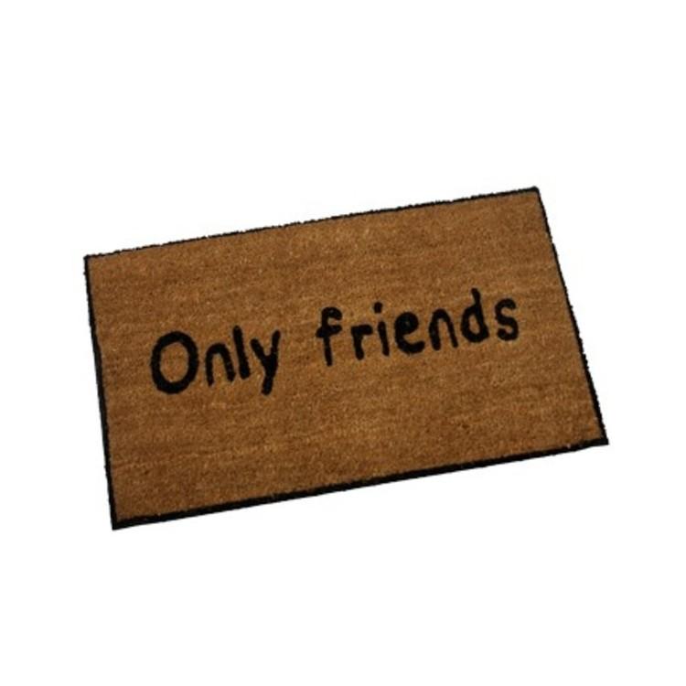 Felpudo Fibra de Coco mod. Only Friends (73x43)