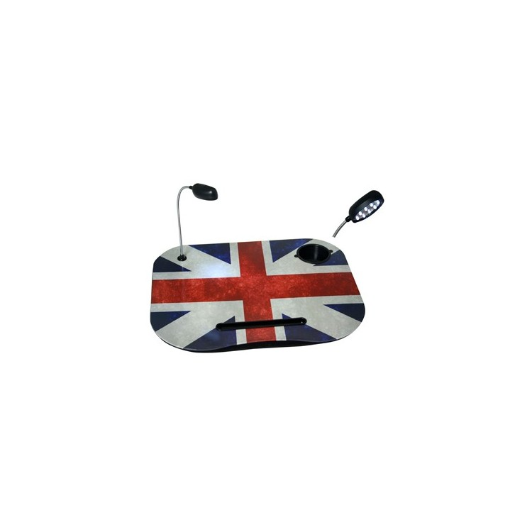 Bandeja Ordenador Portátil con Lámpara Led  mod. Reino Unido