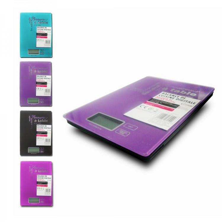 Báscula de Cocina LCD de Home Line 5 kilos 4 colores