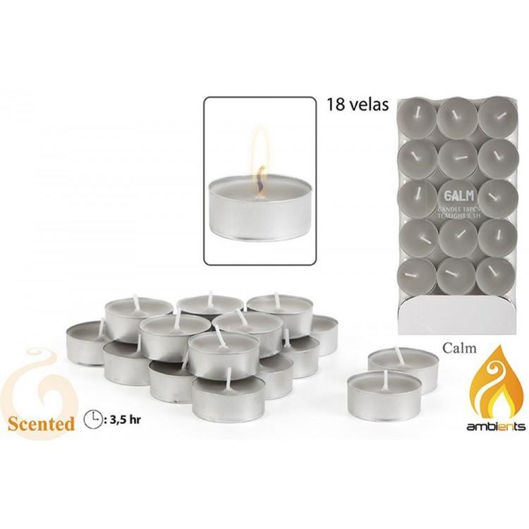 Pack 18 velas aromáticas pequeñas - Modelo calm