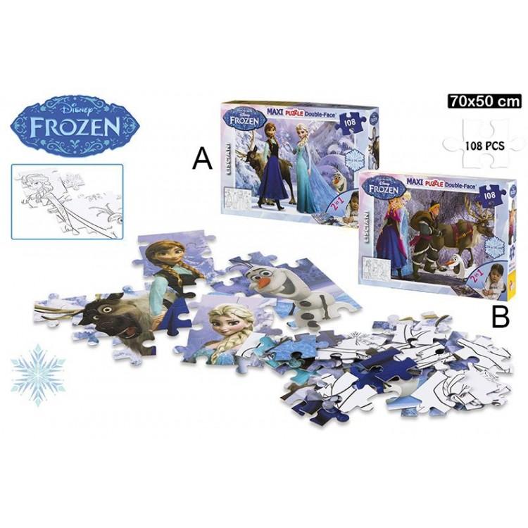 Puzzle de Frozen (70x50 cm). 108 piezas