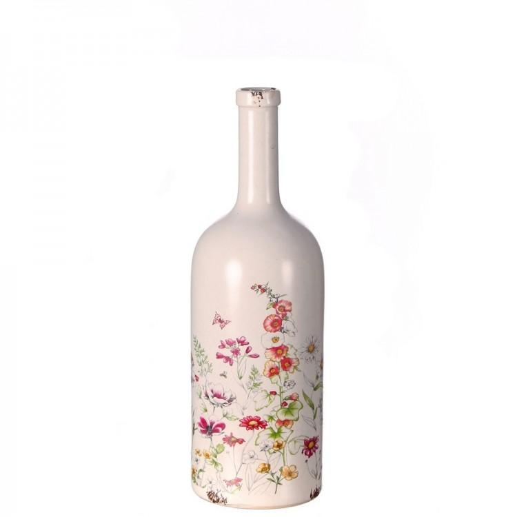 Jarrón forma de botella (13x13x41)