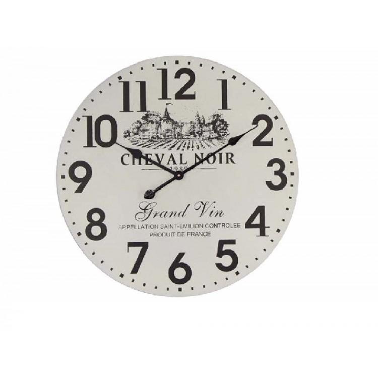 Reloj de pared en madera modelo old town (50x7,5)
