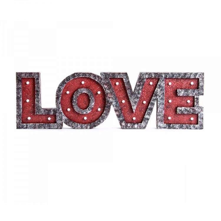 Led de Madera modelo Love (66x20x4 cm)