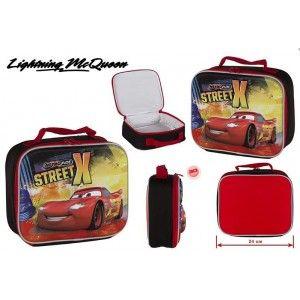 Bolsa térmica infantil de Cars (24x8.5x20 cm)
