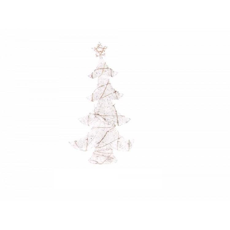 Arbol de navidad en ratán (56 cm.)