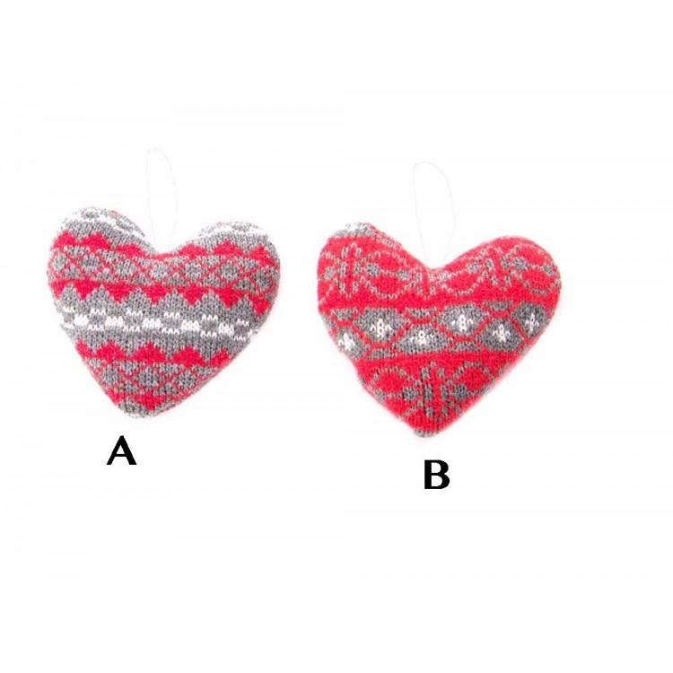 Corazón de tela (10x13)