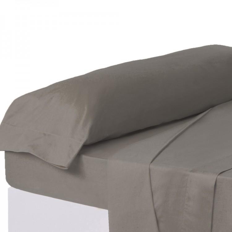 Funda de almohada gris cama, Hogar y Mas